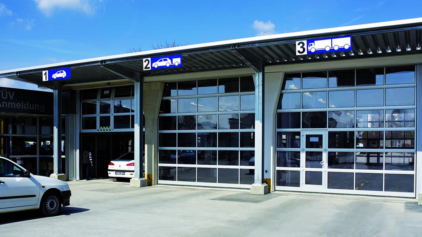 Industrietore Teckentrup Rollladen Sonnenschutz Reiser