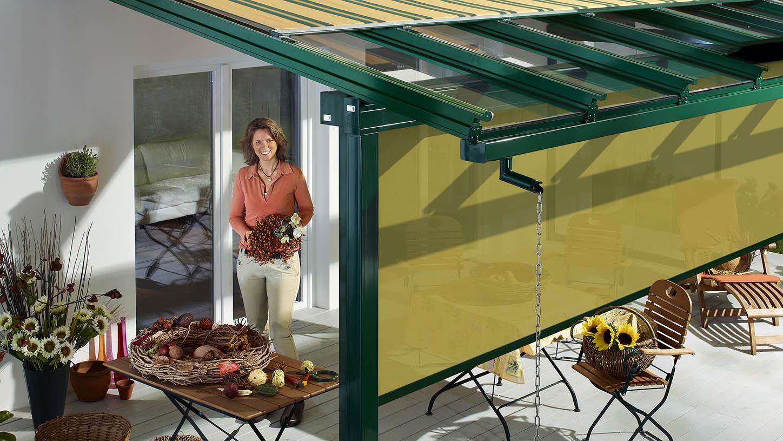 Terrassendacher Sonnenschutz Reiser Reiser